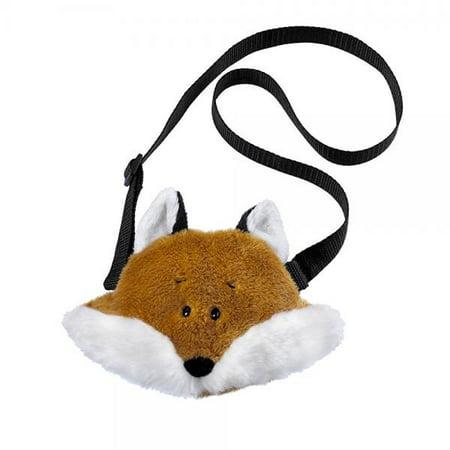Foxy Purse - 4.5 Fox Shoulder Purse Plush