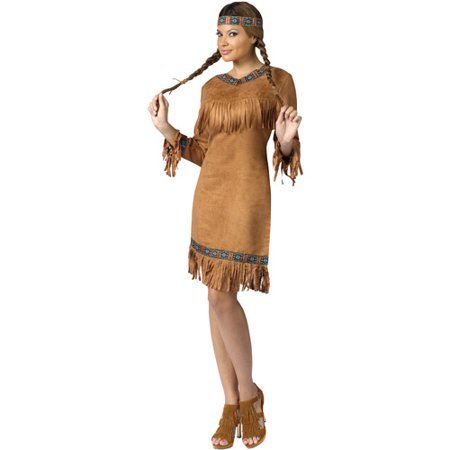 Native American Woman Adult Halloween Costume for $<!---->