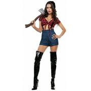 Lady Lumber Jack Adult Costume - Medium