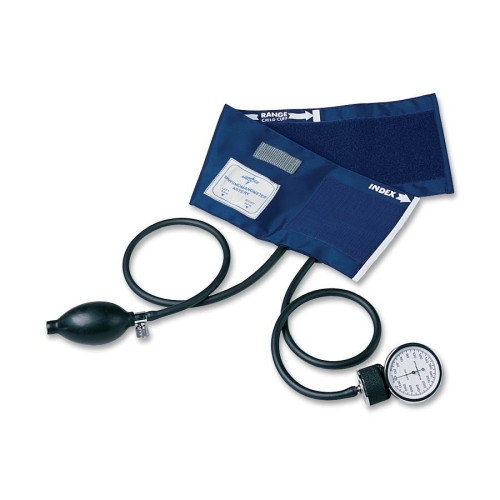 PVC Handheld Aneroid,Black,Large Adult MDS9388
