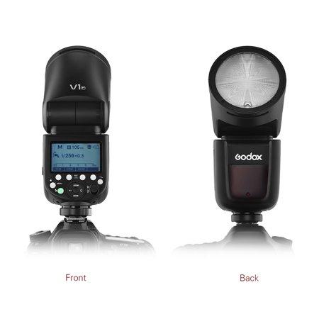 Godox V1F Professional Camera Flash Speedlite Speedlight Round Head Wireless 2.4G for Fuji Fujifilm X-Pro2 X-T20 X-T2 X-T1 GFX50S GFX50R Cameras for Wedding Portrait Studio Photography - image 7 of 7