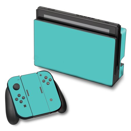 Turquoise Vinyl - Skins Decals For Nintendo Switch Vinyl Wrap / Turquoise Color