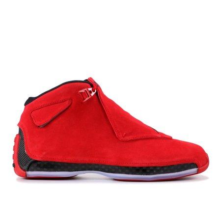 low priced 4fb80 0af9c Air Jordan - Men - Air Jordan 18 Retro 'Red Suede' - Aa2494-601 - Size 12