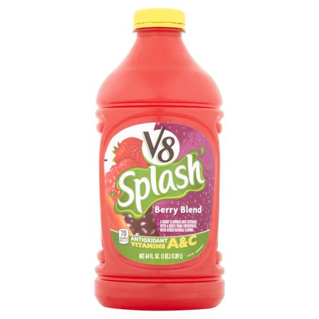V8 Splash Berry Blend  64 Fl Oz