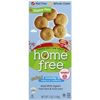 HomeFree Mini Crunchy Vanilla Cookies, 5 oz, (Pack of 6)