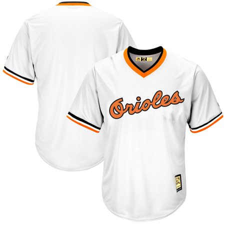 Baltimore Orioles Majestic Home Cooperstown Cool Base Replica Team Jersey - White