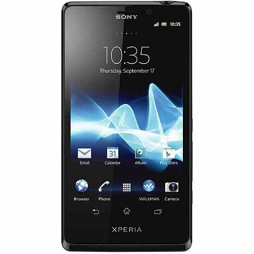 Sony Xperia TL LT30at - 16GB - Black (AT&T) Smartphone