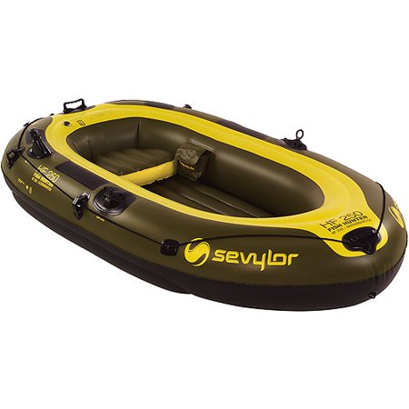Coleman fish hunter 3 person inflatable boat for Coleman s fish