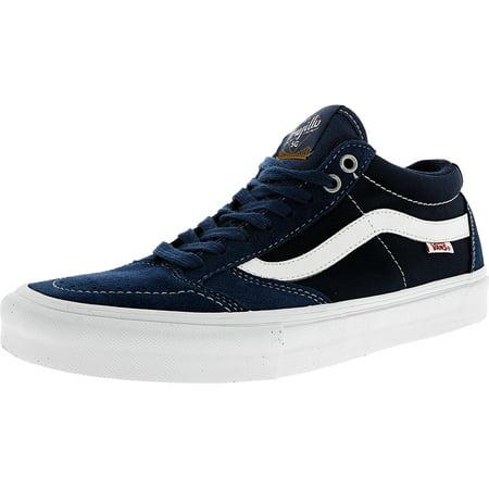 c564cbc5dc Vans - Vans Men s Tnt Sg Washed Canvas Navy   White Ankle-High  Skateboarding Shoe - 7M - Walmart.com