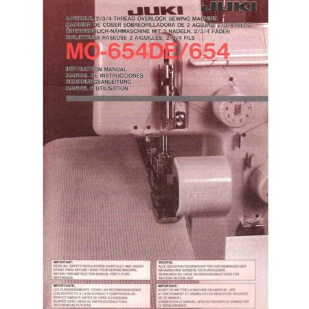 Juki MO-654DE Pearl Series Serger with Combo Deal! (Sewing And Serger Machine Combo)