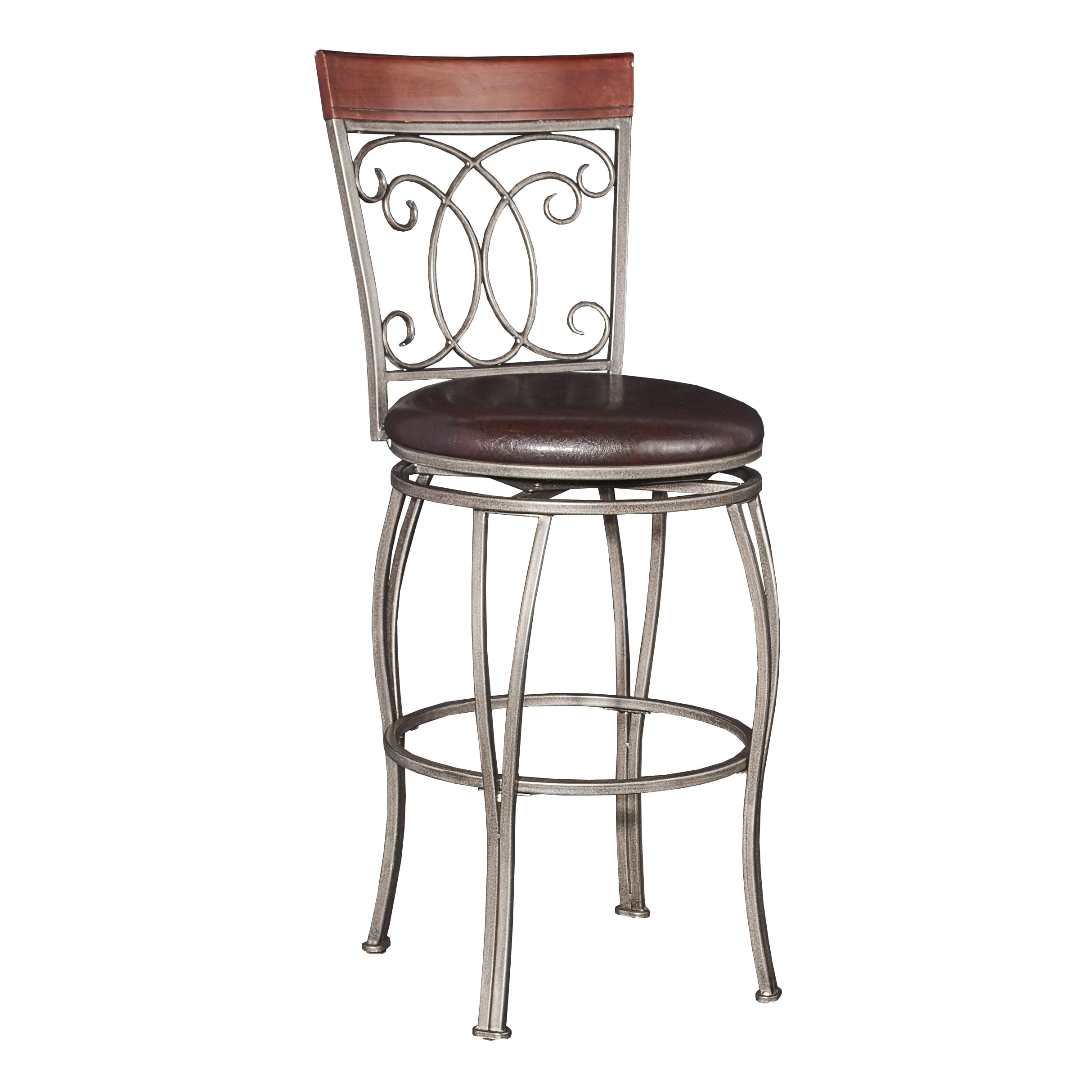 Powell Bailey Big and Tall Bar Stool by Overstock