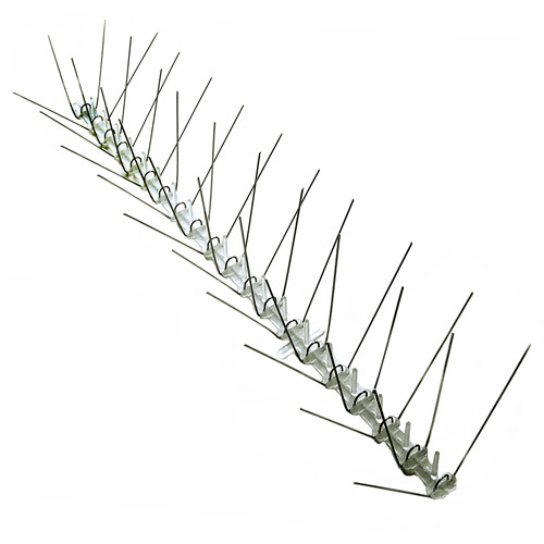 Bird-X Extra-Wide Stainless Steel Bird Spikes, 10'