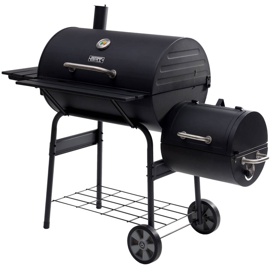 "Backyard Grill 30"" Offset Smoker"