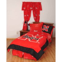 College Covers TTUBBQUW Texas Tech Bed in a Bag Queen- With White Sheets