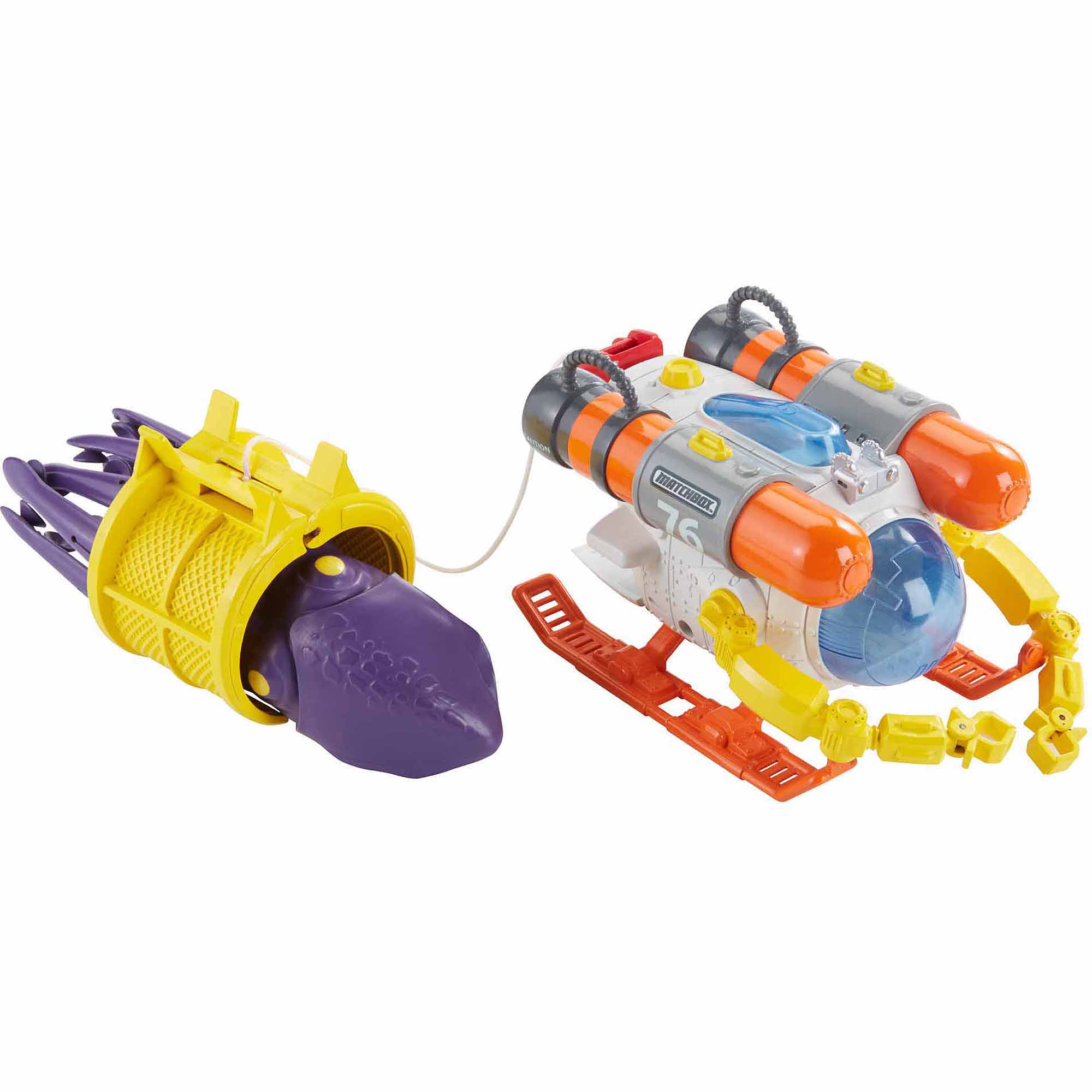 Matchbox Mission: Undersea Squid Sub Play Set