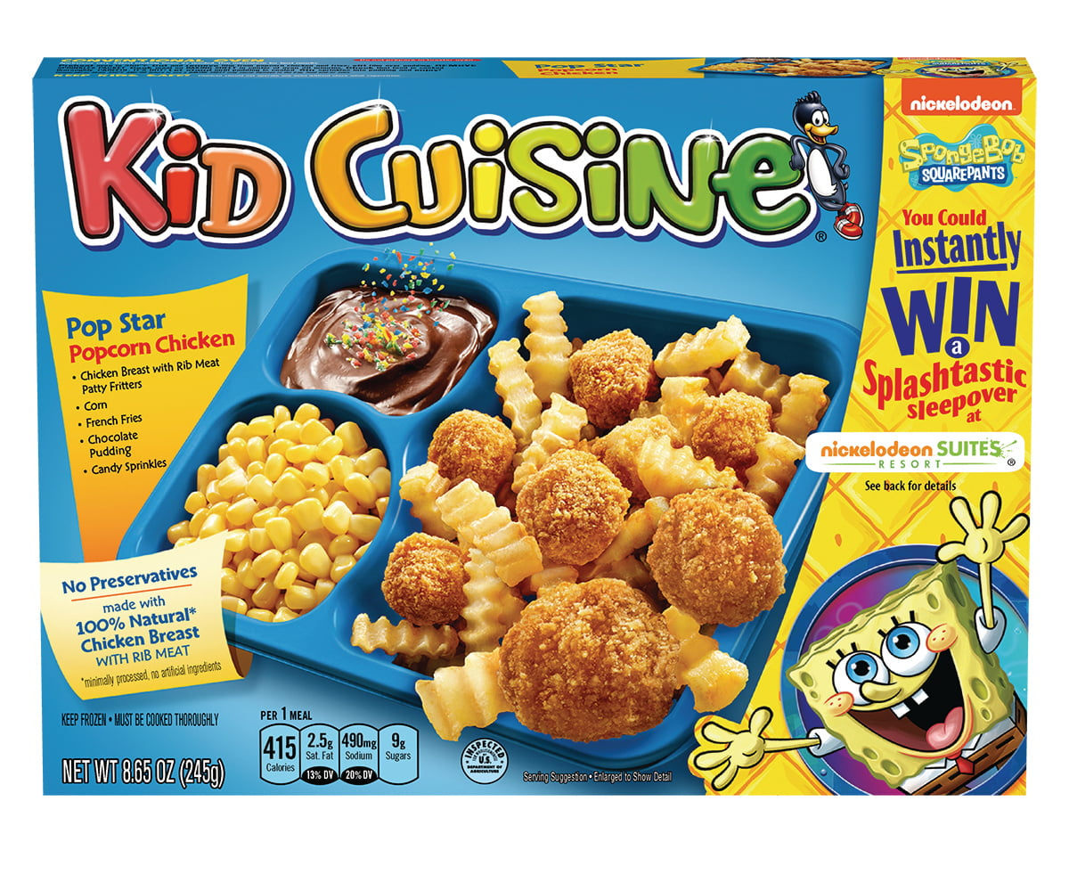 KID CUISINE Cowabunga Popcorn Chicken Meal With French