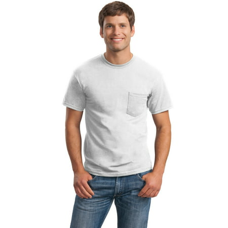 100% Cotton 2 Pocket - Ultra Cotton 100% Cotton T-Shirt with Pocket