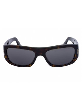 ba81c19f16 Product Image Tom Ford FT0593 52A Rodrigo-02 Dark Havana Rectangular  Sunglasses