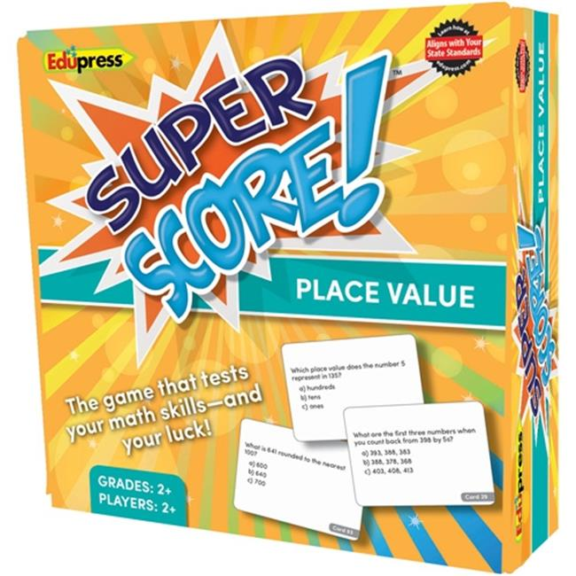 Edupress EP-2084 Super Score Place Value Grade 2 to 3