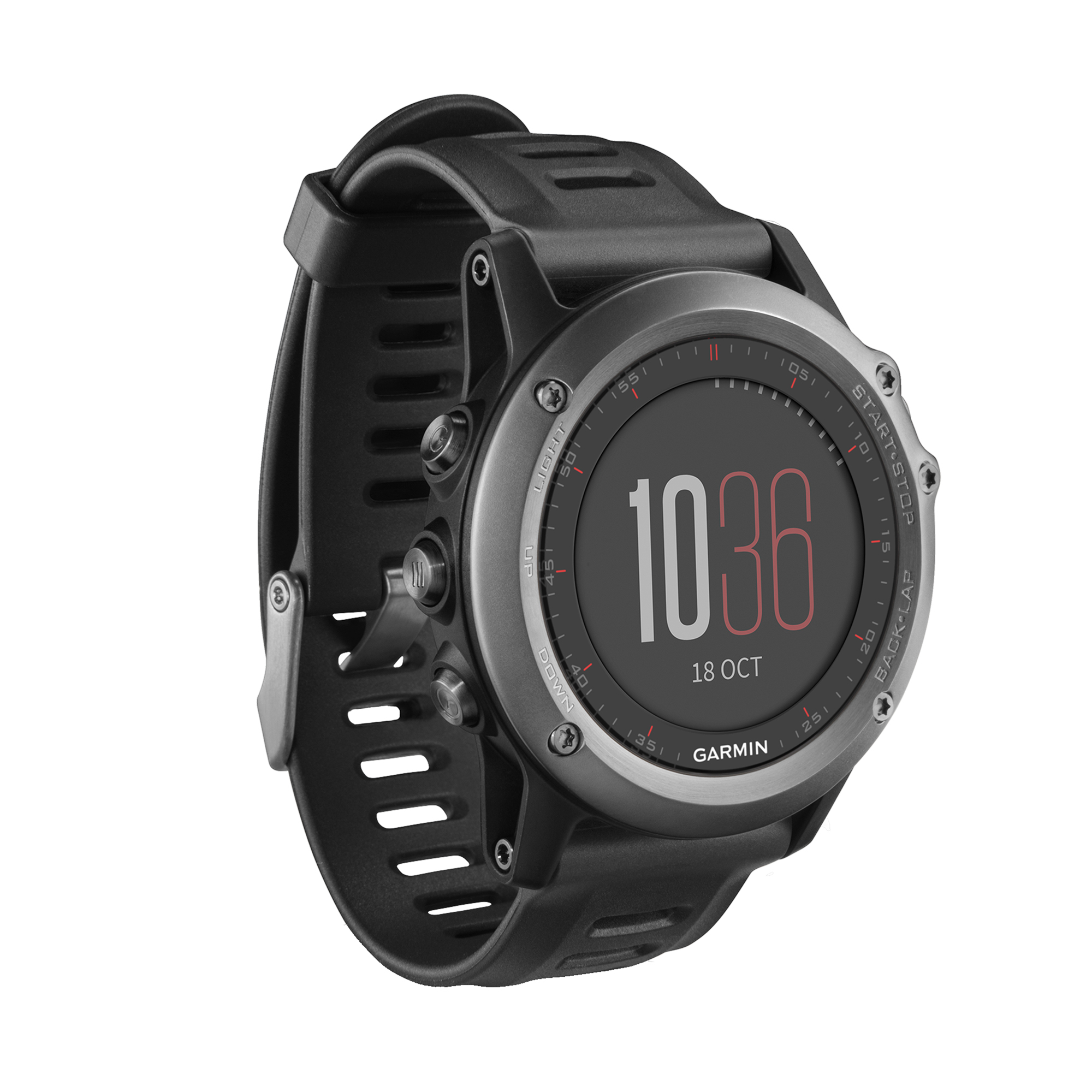 Garmin Fenix 3 Smart Multi Sport Fitness Tracker Training Watch with GPS, Gray by Garmin