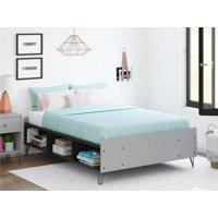 Novogratz Owen Full Bed, Dove Gray