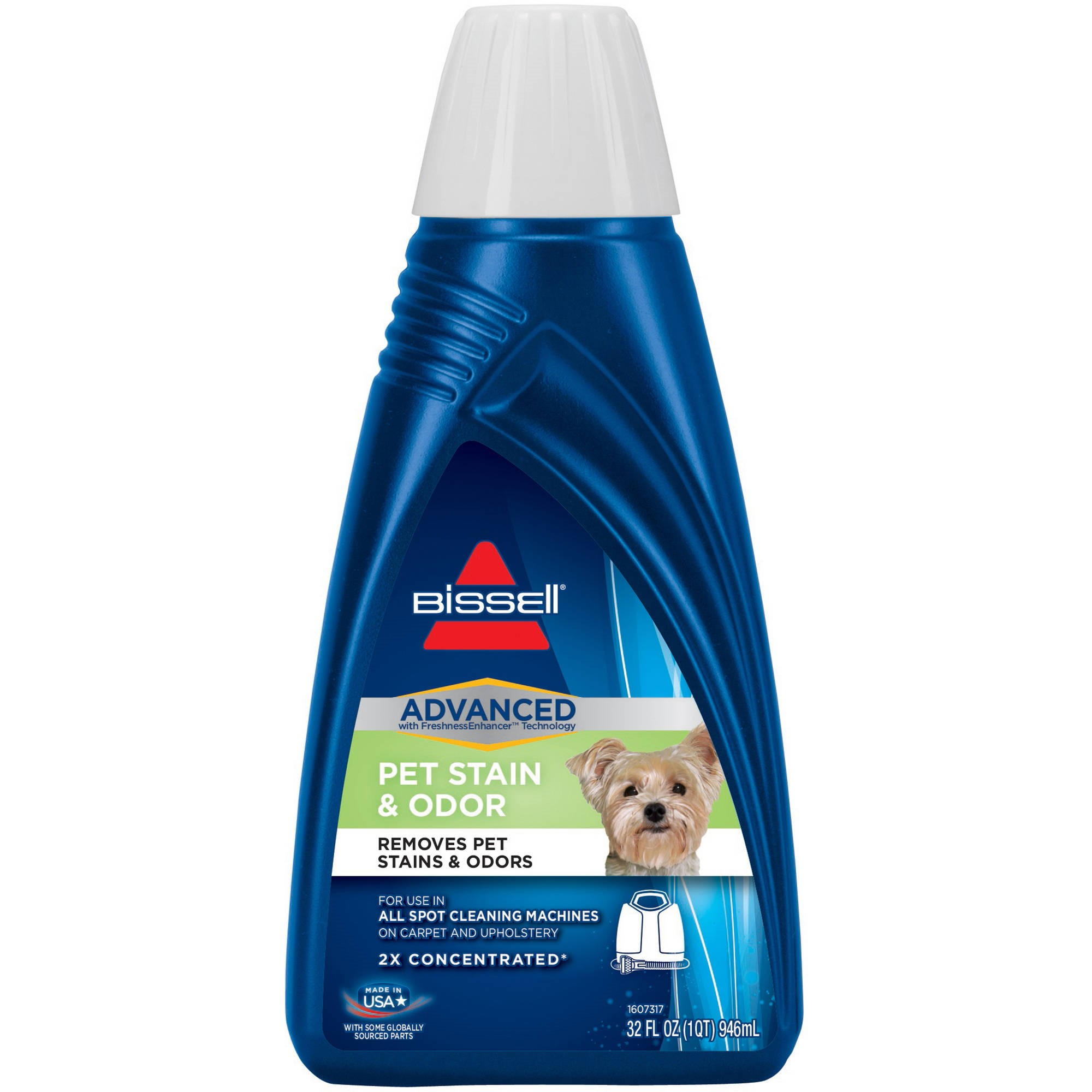 BISSELL 2X Pet Stain & Odor Carpet Cleaning Formula (32 oz.) | 74R7
