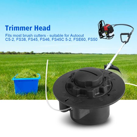 Ejoyous Grass Brush Cutter Trimmer Strimmer Head for Autocut C5-2 FS38 FS45 FS46 FS45C 5-2 FSE60 FS50, Trimmer Heads, Brush Cutter Head - image 7 of 7