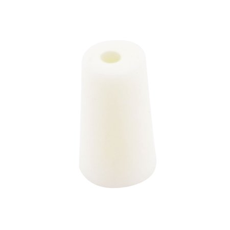 Unique Bargains Lab Experiment Parts 6mm Hole Dia Tapered Test Tube Stopper -