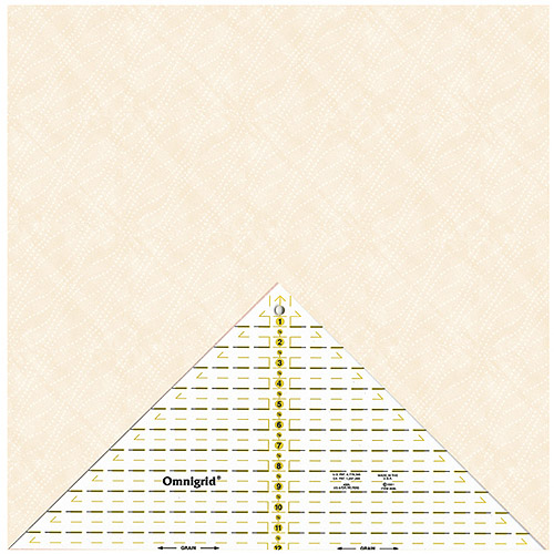 """Omnigrid Right Triangle, Up to 12"""" Diagonal"""