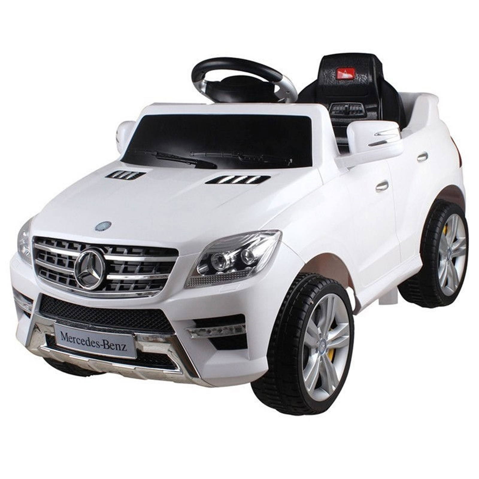 licensed mercedes benz ml 350 6v kids battery powered ride on car 2 colors walmartcom