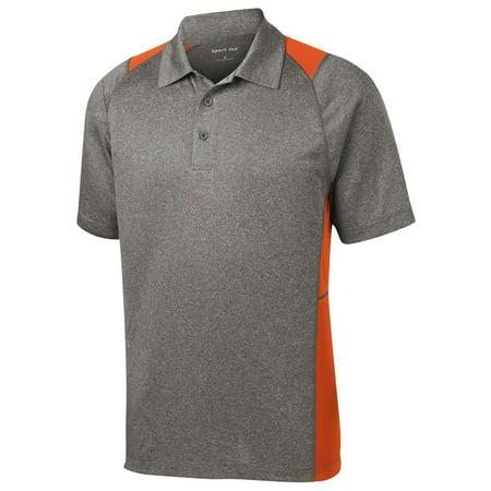 Colorblock Golf Polo - Sport Tek Men's Colorblock Contender Polo Shirt