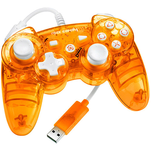 PDP Rock Candy Controller, Orange (PS3)