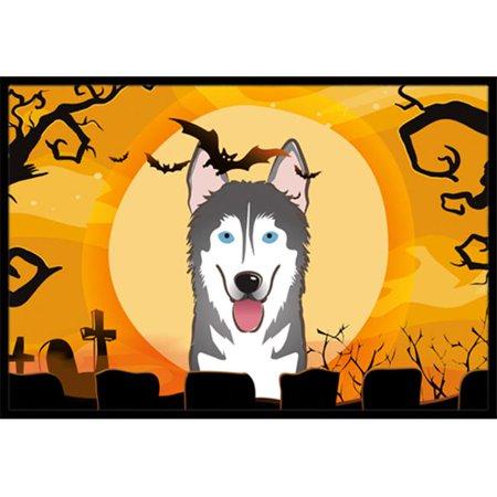 Carolines Treasures BB1776JMAT Halloween Alaskan Malamute Indoor & Outdoor Mat, 24 x 36 in. - image 1 of 1
