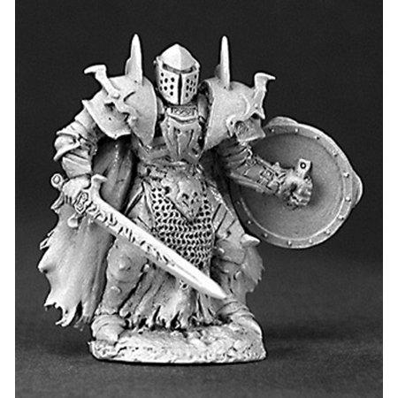 Reaper Miniatures Unpainted Benedikt Hellhorn, Evil Warrior #03200 Dark - Miniature Sharks