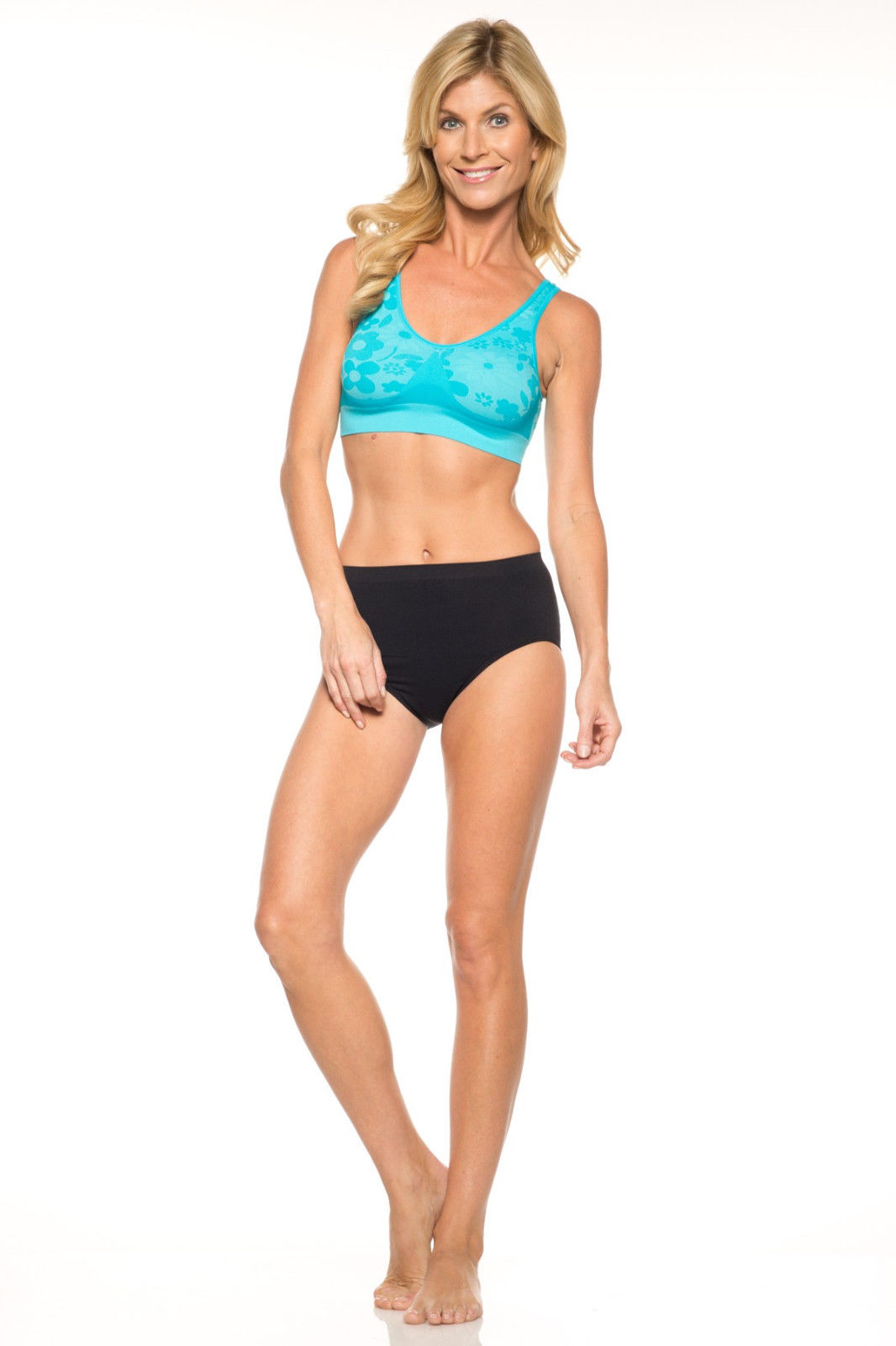 Ahh Bra Rhonda Shear Seamless Leisure Bra - 9588