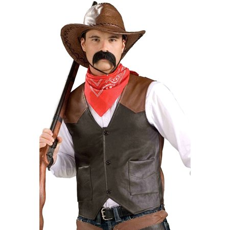 Forum Novelties Cowboy Costume Vest – Adult Economy Standard - Dallas Cowboys Costumes