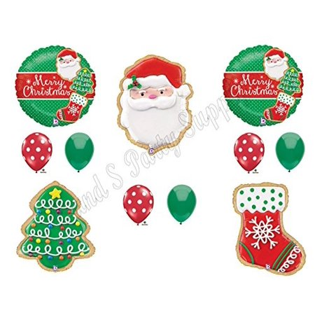 christmas cookie exchange party balloons decoration supplies gift gingerbread - Cookie Exchange
