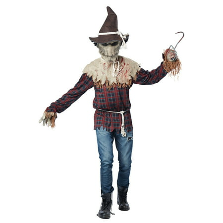 Sadistic Scarecrow Adult Costume - Scarecrow Costume For Adults