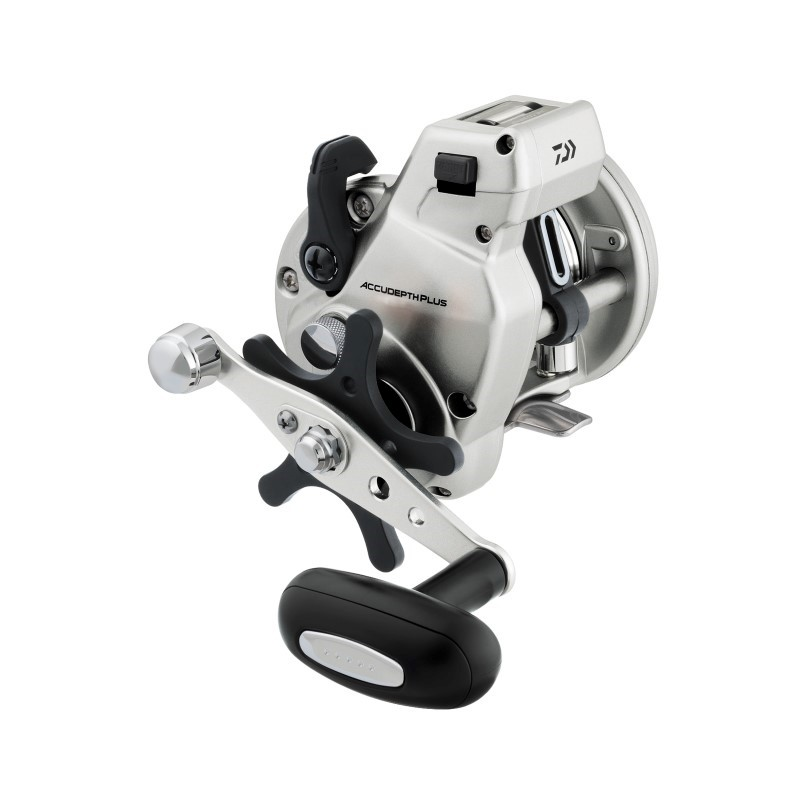 Daiwa Accudepth Plus-B Line Counter Reel, 1 Ball Bearing, 12 lbs/250 yds