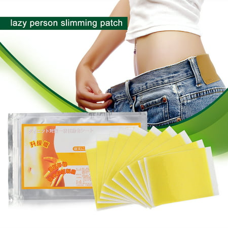 Herwey Slimming Patch, Weight Loss Sticker, 10Pcs Slimming Fat Burning Toxin Eliminating Sleeping Slim Patches Weight Loss Stickers - image 4 of 9