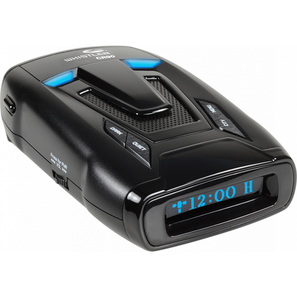 Whistler CR90 Laser Radar Detector with GPS by Whistler