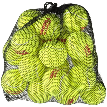Tourna® Pressureless Tennis Balls 18 ct (Mesh Bag Tennis Balls)