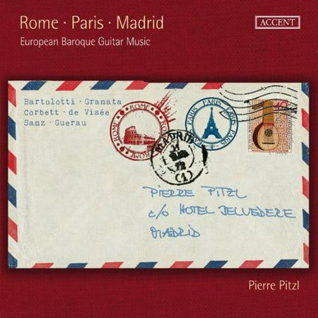 Madrid Vinyl (Rome Paris Madrid European Baroque Guitar Music (CD))