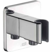 Hansgrohe Axor 11626001 Urquiola Hand Shower Holder with Integrated Hose Connection, Chrome