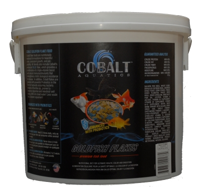 Cobalt Aquatics 22004 Goldfish Flake Premium Food, 2 lb