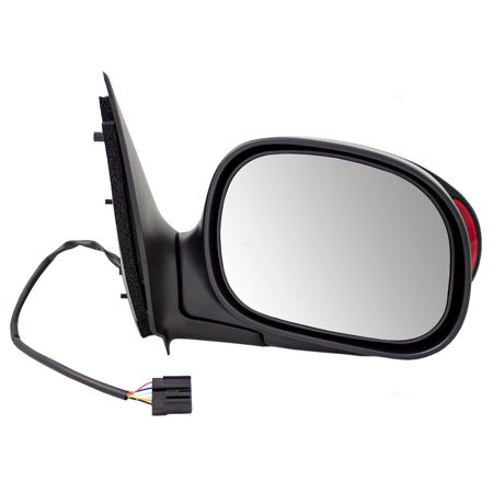 Passengers Power Side View Mirror with External Signal OEM Substitute Replacement for Ford Pickup Truck