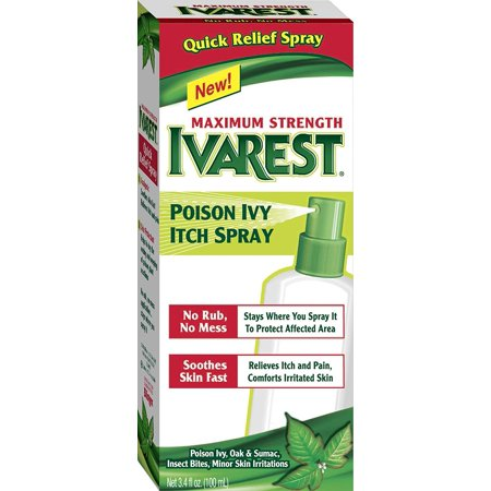 Ivarest Poison Ivy Itch Spray, 3.4 Ounce (Bug Bites That Look Like Poison Ivy)