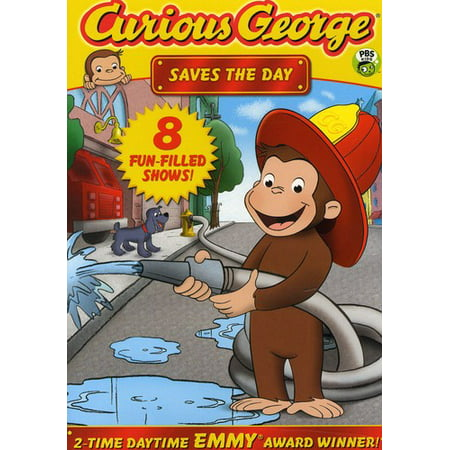 CURIOUS GEORGE-SAVES THE DAY (DVD) (ENG SDH/WS/1.78:1) (DVD) - Curious George Pbs Halloween Movie