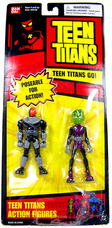 Teen Titans Go! Slade & Beast Boy Action Figure 2-Pack by
