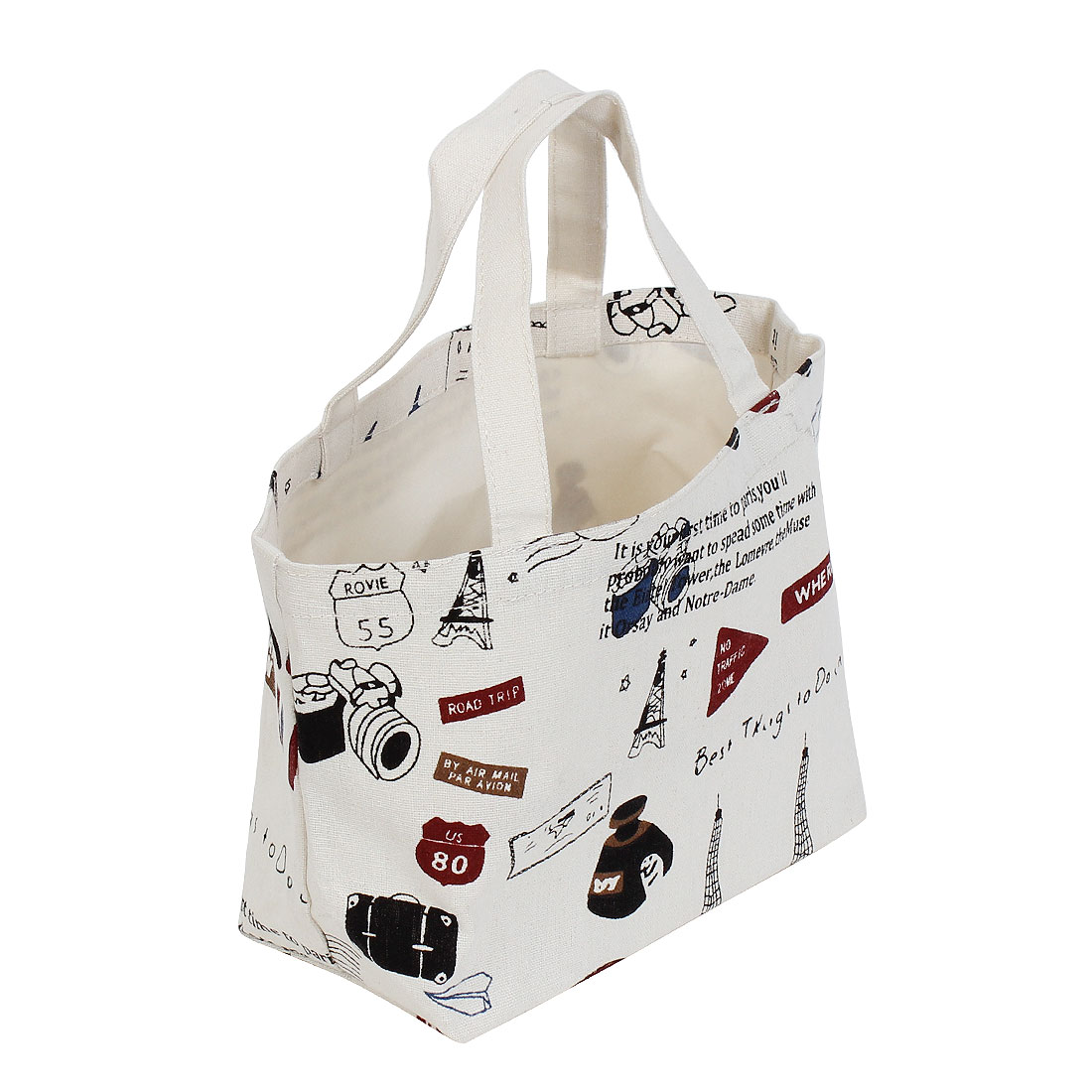 Picnic Travel Portable Tote Lunch Container Storage Bag